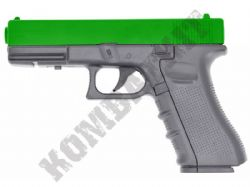 FS1501 BB Gun Glock G17 Replica CO2 Powered Airsoft Pistol Black 2 Tone Full Metal